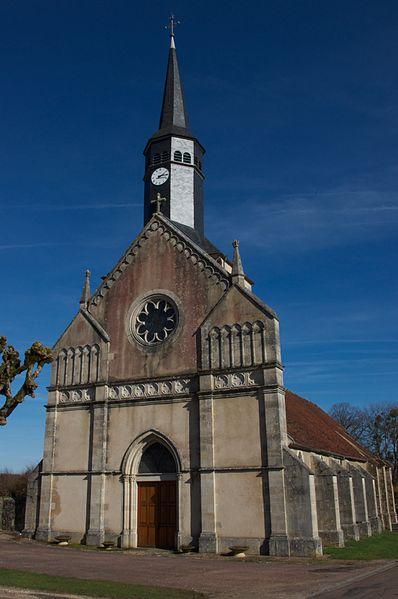 Photo du Monument Historique Eglise Saint-Siméon situé à Menou