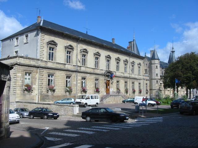 Photo du Monument Historique Hôtel de ville situé à Nevers