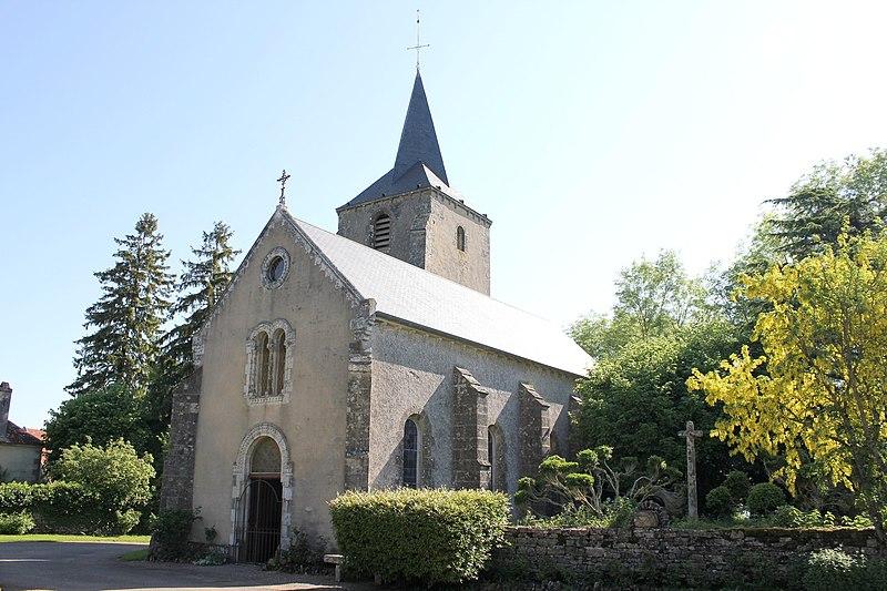 Photo du Monument Historique Eglise Saint-Sulpice situé à Authiou