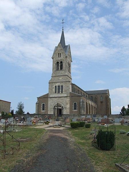 Photo du Monument Historique Eglise Saint-Alban situé à Lormes