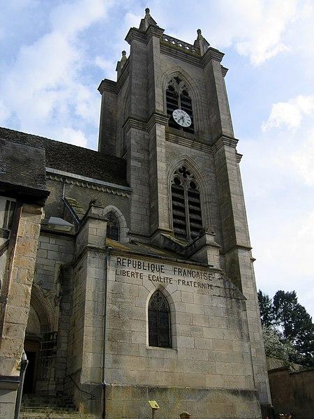 Photo du Monument Historique Eglise Saint-Caradeuc situé à Donzy