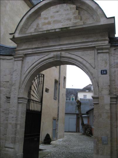 Photo du Monument Historique Hôtel Andras de Marcy situé à Nevers