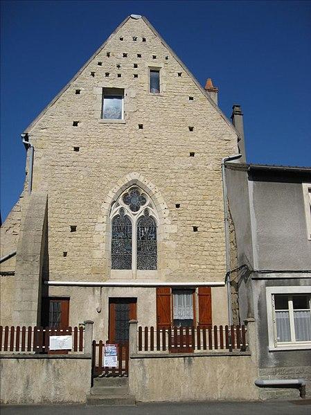 Photo du Monument Historique Ancienne chapelle Saint-Sylvain situé à Nevers