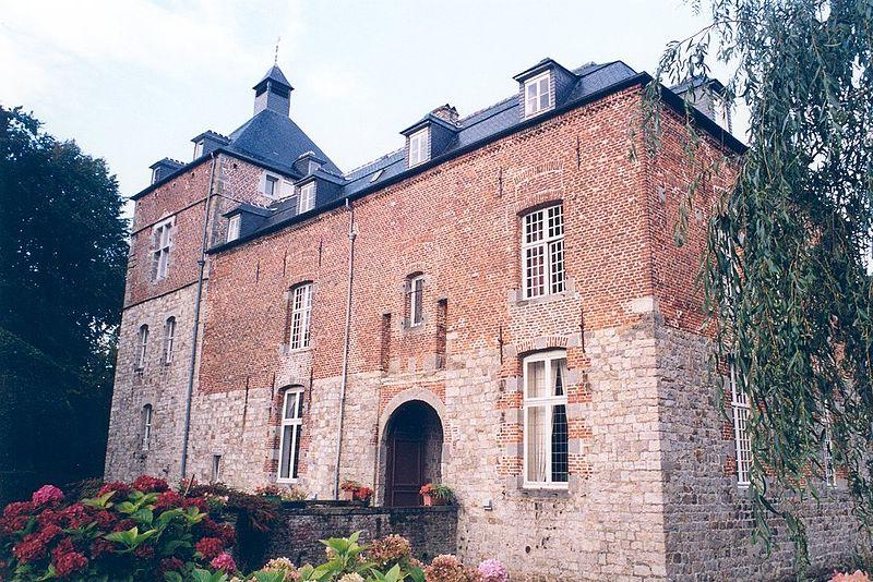 Photo du Monument Historique Château situé à Audignies