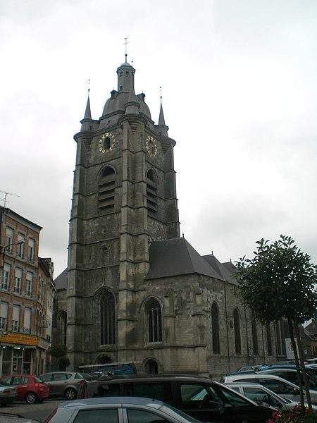 Photo du Monument Historique Eglise Saint-Nicolas situé à Avesnes-sur-Helpe