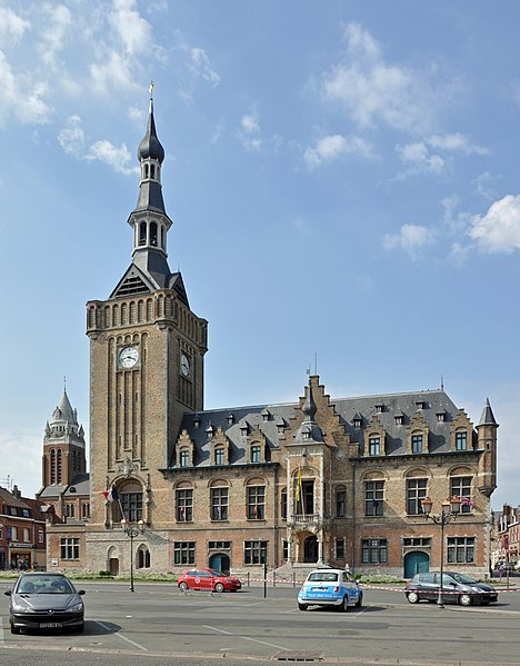 Photo du Monument Historique Hôtel de ville situé à Bailleul