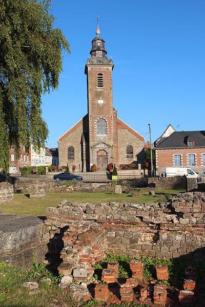 Photo du Monument Historique Vestiges antiques situé à Bavay