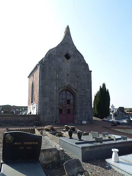 Photo du Monument Historique Chapelle du cimetière situé à Bellignies