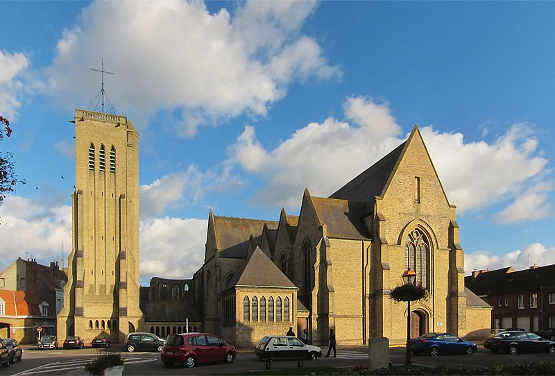 Photo du Monument Historique Eglise Saint-Martin situé à Bergues