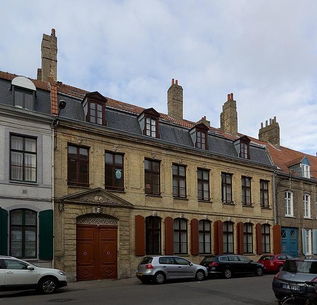 Photo du Monument Historique Hôtel Zylof de Winde situé à Bergues