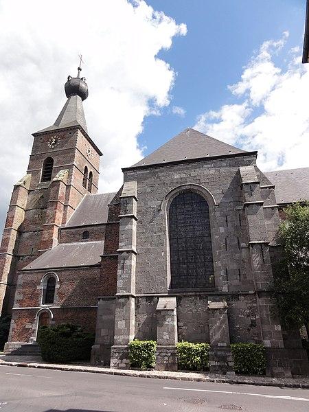 Photo du Monument Historique Eglise Saint-Michel situé à Berlaimont