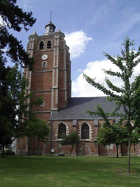 Photo du Monument Historique Eglise Saint-Etienne situé à Bersée