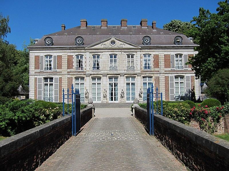 Photo du Monument Historique Château du Vert-Bois situé à Bondues
