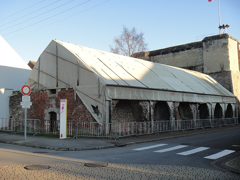 Photo du Monument Historique Poudrière situé à Bouchain