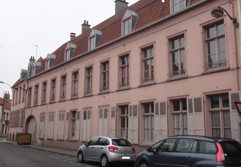 Photo du Monument Historique Ancien Hospice Saint-Jean situé à Bourbourg