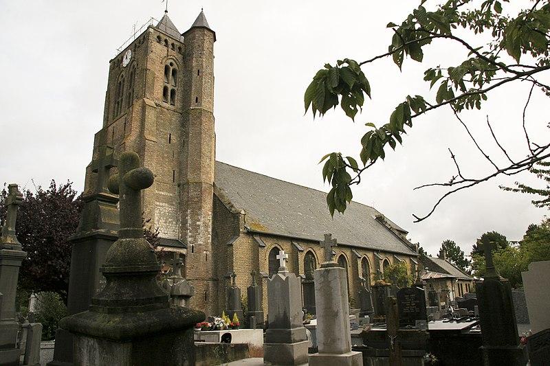 Photo du Monument Historique Eglise Saint-Omer situé à Brouckerque