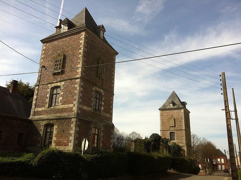 Photo du Monument Historique Ancien château situé à Busigny