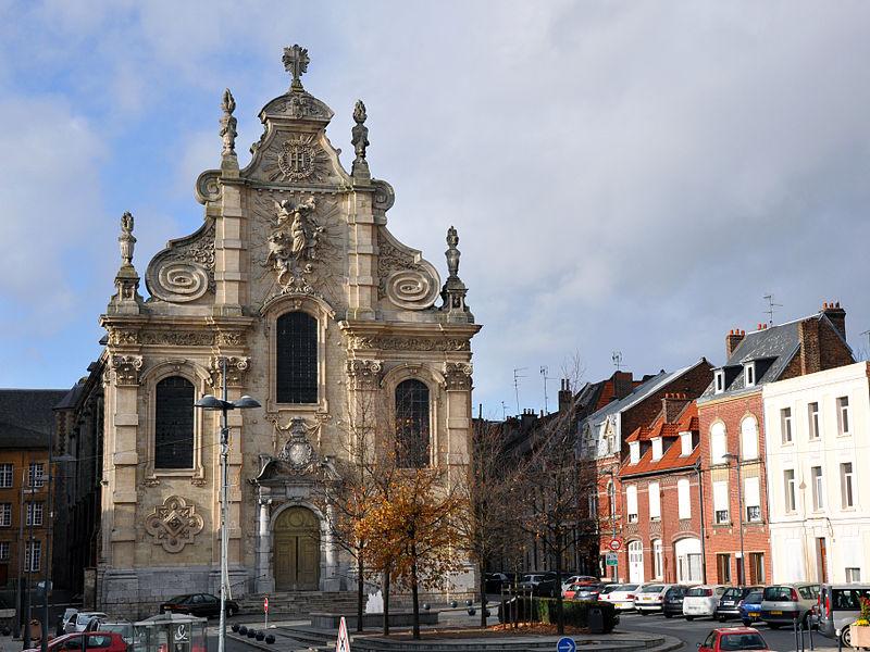 Photo du Monument Historique Ancien Collège des Jésuites ou grand séminaire situé à Cambrai
