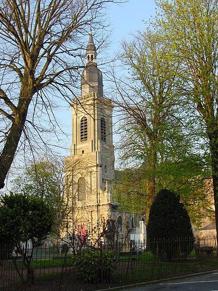 Photo du Monument Historique Eglise Saint-Géry situé à Cambrai