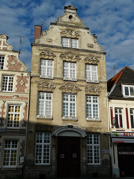 Photo du Monument Historique Maison situé à Cambrai