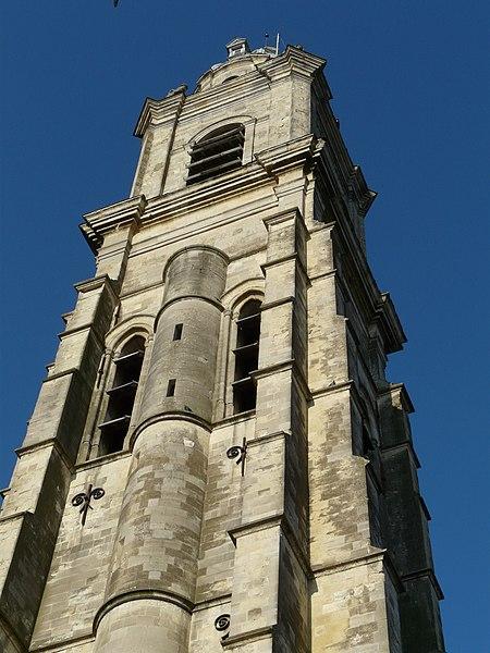 Photo du Monument Historique Tour Saint-Martin, dite aussi Beffroi situé à Cambrai