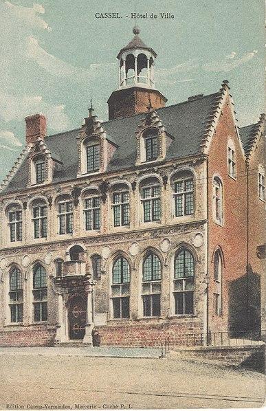 Photo du Monument Historique Ancien Hôtel de ville situé à Cassel