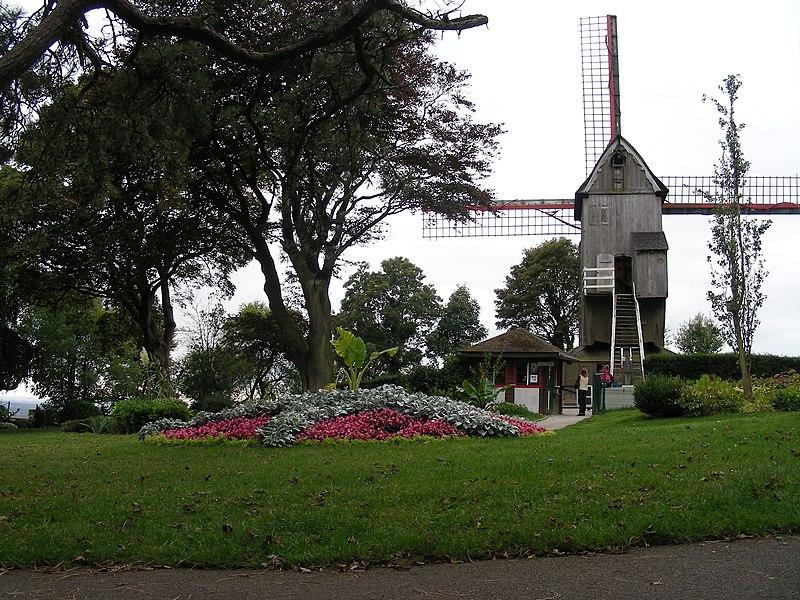 Photo du Monument Historique Jardin public du Moulin de Cassel situé à Cassel