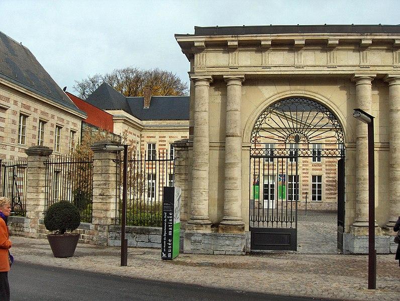 Photo du Monument Historique Ancien Palais des Archevêques de Cambrai situé à Le Cateau-Cambrésis