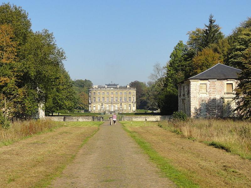 Photo du Monument Historique Château de l'Hermitage situé à Condé-sur-l'Escaut