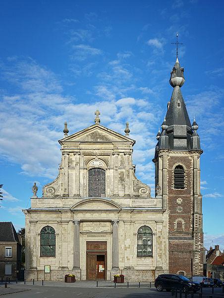 Photo du Monument Historique Eglise Saint-Wasnon situé à Condé-sur-l'Escaut