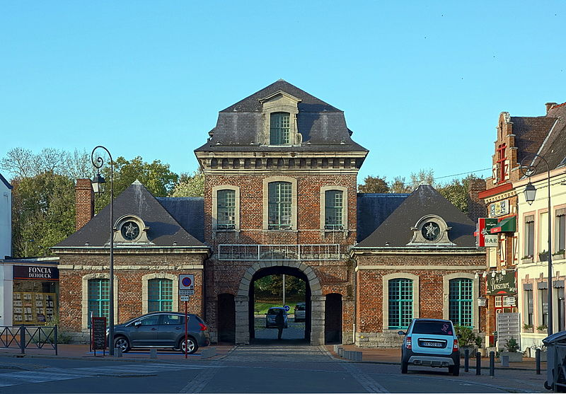 Photo du Monument Historique Porte Vantourneux situé à Condé-sur-l'Escaut