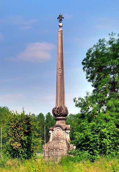 Photo du Monument Historique Pyramide de Fontenoy situé à Cysoing