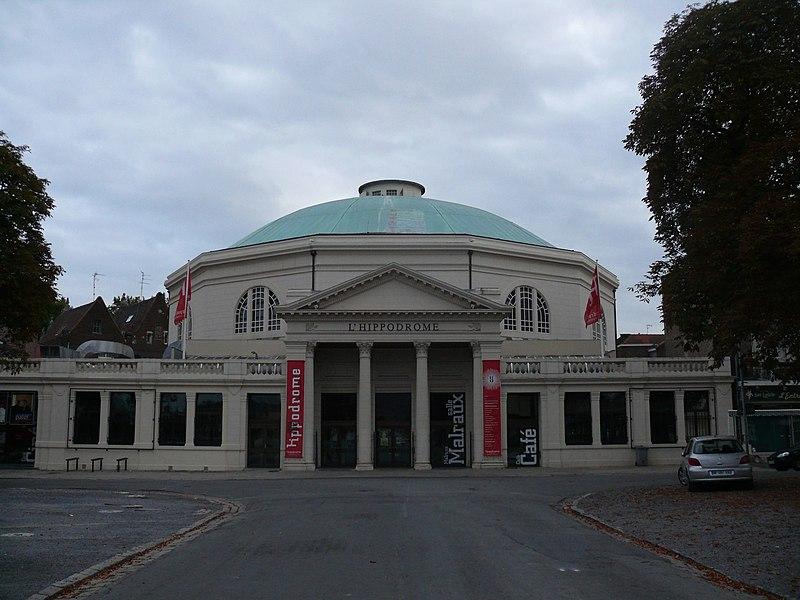 Photo du Monument Historique Cirque, appelé ancien hippodrome situé à Douai