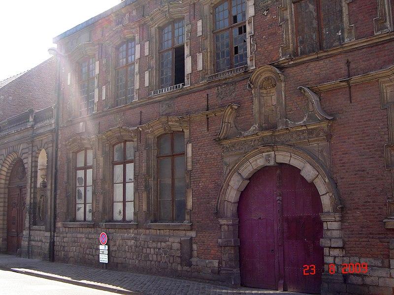 Photo du Monument Historique Hôtel de la Tramerie ou Hôtel Renaissance situé à Douai