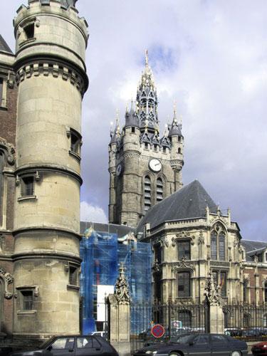 Photo du Monument Historique Hôtel de ville et beffroi situé à Douai