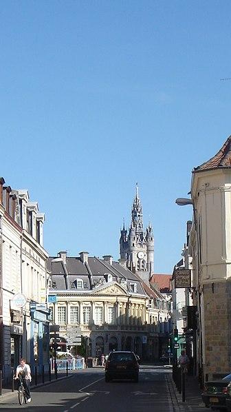 Photo du Monument Historique Maison dite de la Poule situé à Douai