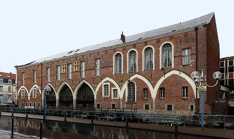 Photo du Monument Historique Palais de Justice situé à Douai