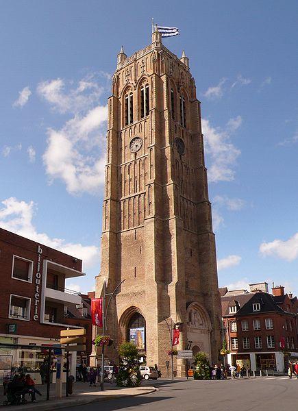 Photo du Monument Historique Eglise Saint-Eloi situé à Dunkerque