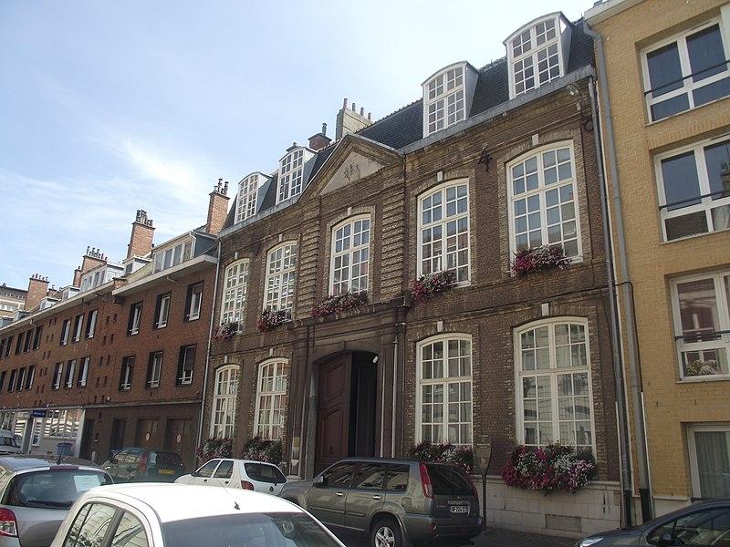 Photo du Monument Historique Hôtel de l'Armateur situé à Dunkerque