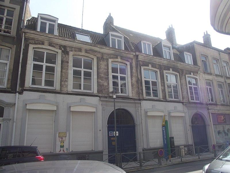 Photo du Monument Historique Maison situé à Dunkerque