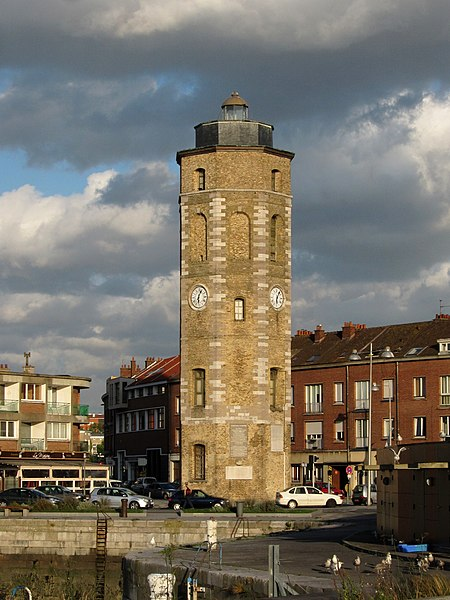 Photo du Monument Historique Tour du Leughenaer situé à Dunkerque
