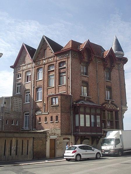Photo du Monument Historique Villa les Sourires situé à Dunkerque