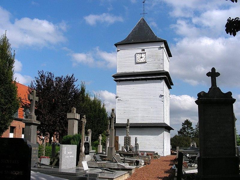 Photo du Monument Historique Klockhuis ou maison des cloches situé à Eecke