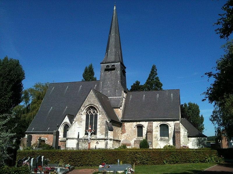 Photo du Monument Historique Eglise situé à Englos