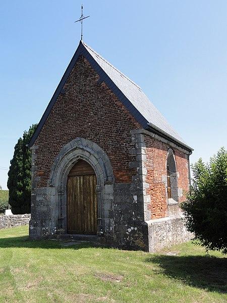 Photo du Monument Historique Chapelle de Waudrechies situé à Flaumont-Waudrechies