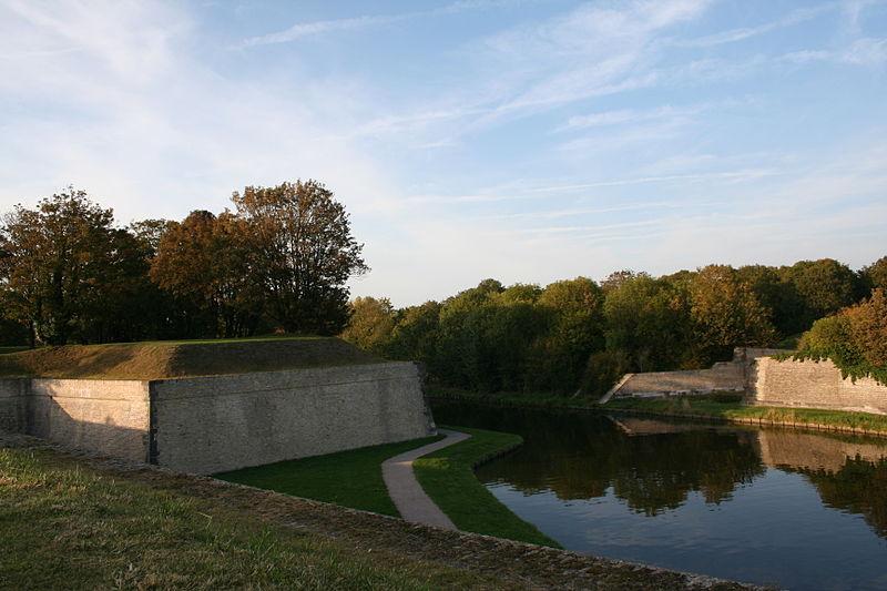 Photo du Monument Historique Vestiges anciens de la ville situé à Gravelines