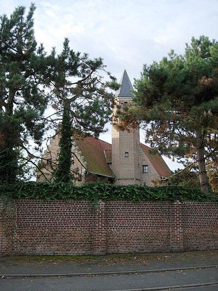 Photo du Monument Historique Manoir situé à Hallennes-lez-Haubourdin