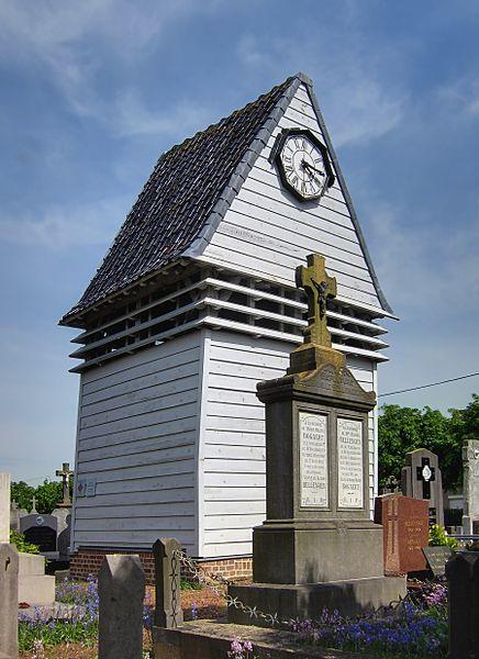 Photo du Monument Historique Klockhuis ou maison des cloches situé à Hardifort