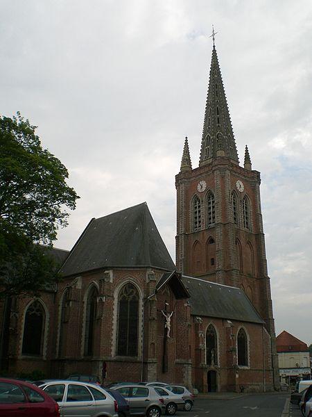 Photo du Monument Historique Eglise Saint-Eloi situé à Hazebrouck