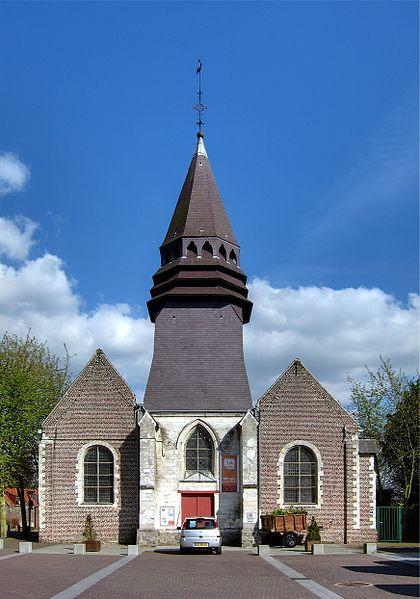 Photo du Monument Historique Eglise Saint-Martin d'Houplin situé à Houplin-Ancoisne